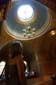 innterior sinagoga española