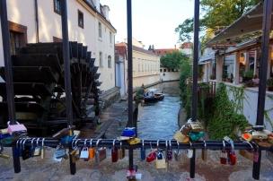 Puente enamorados Praga