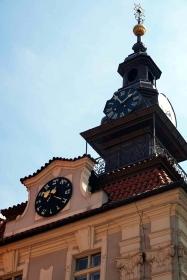 Reloj Antiguo Ayuntamiento Barrio Judío Praga