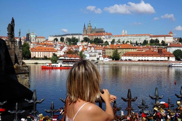 Vistas al Castillo Praga