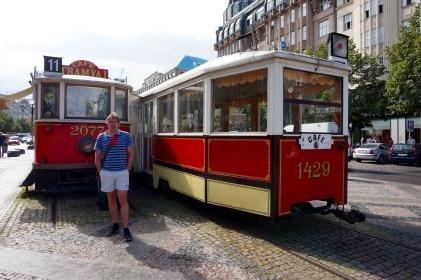 Cafetería antiguo tranvía