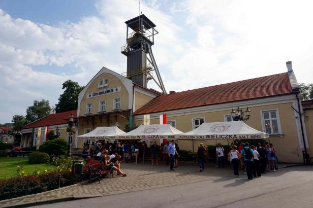 Entrada Minas Sal Wieliczka