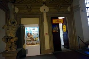 Entrada museo juguete praga