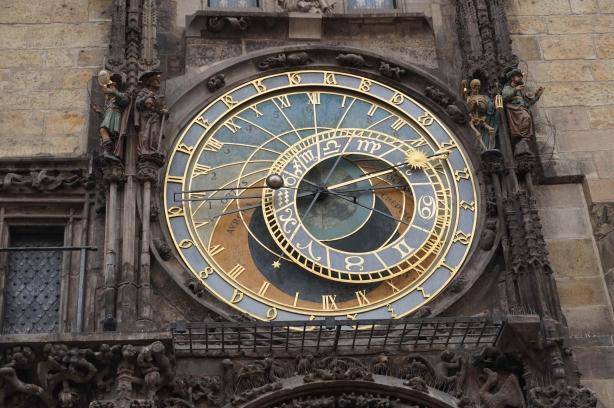 Parte reloj astronómico