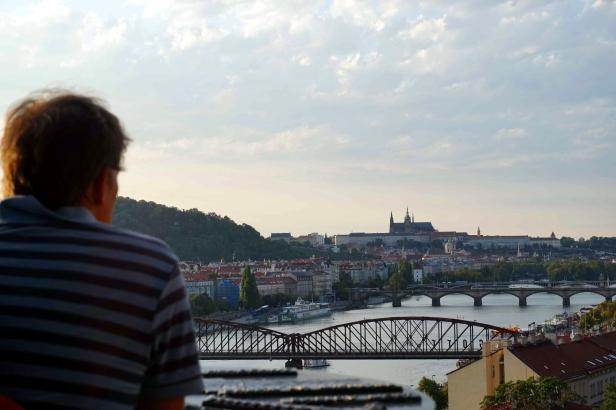 Vistas Praga desde Vyšehrad