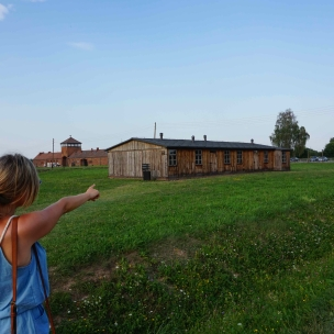 barracones Birkenau