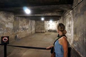 Cámara gas Auschwitz