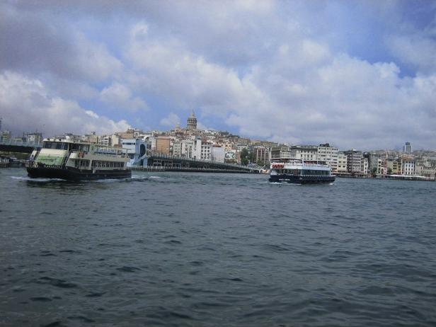 Gálata desde Bósforo
