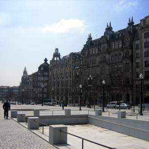 Plaza Libertad Oporto