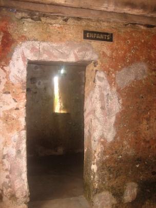 Celda de niños esclavos Gorée