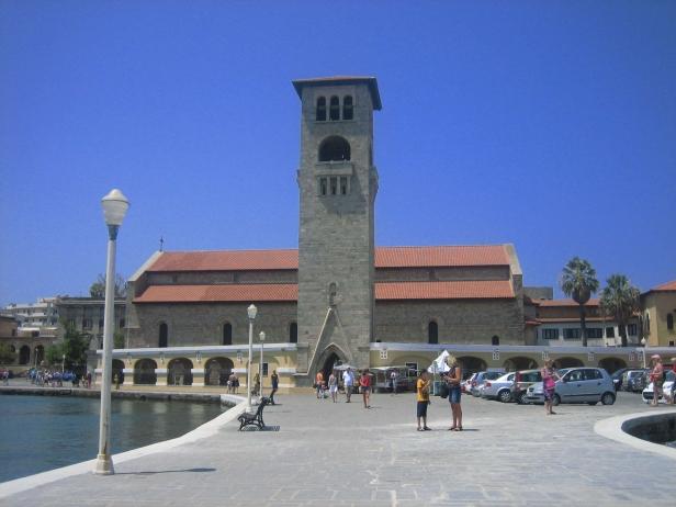 Lateral iglesia Evangelismos