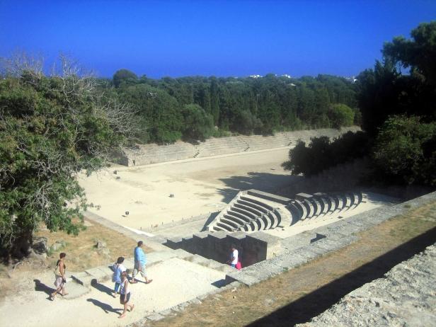 restos arqueológicos Rodas