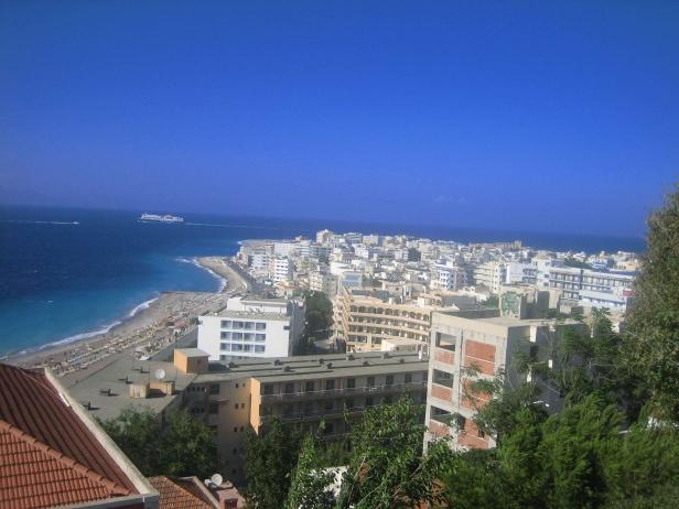 vistas ciudad Rodas